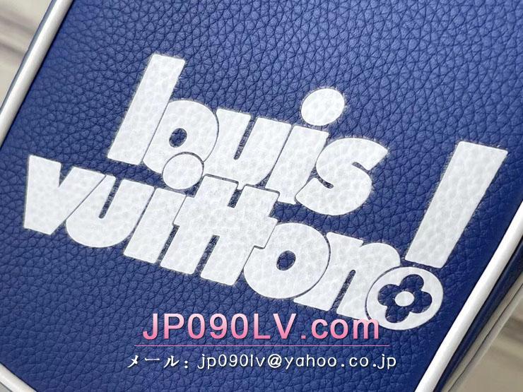 ルイヴィトン バッグ スーパーコピー M45893 「LOUIS VUITTON」 21新作 ダヌーヴ PPM メンズ ショルダーバッグ