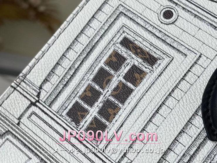ルイヴィトン モノグラム バッグ コピー M59264 「LOUIS VUITTON」 21新作 オンザゴー MM レディース トートバッグ