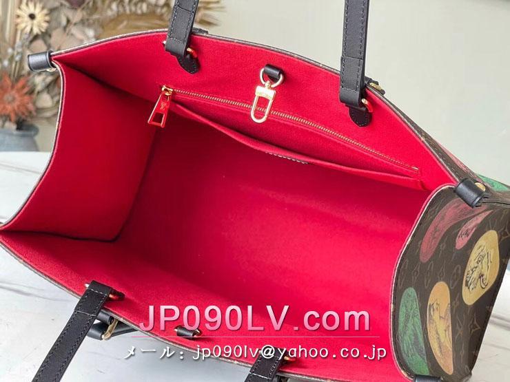 ルイヴィトン モノグラム バッグ スーパーコピー M59245 「LOUIS VUITTON」 21新作 オンザゴー MM レディース トートバッグ