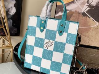 ルイヴィトン バッグ コピー N60495 「LOUIS VUITTON」 21新作 サック・プラ XS レディース ショルダーバッグ 2色可選択 ターコイズ