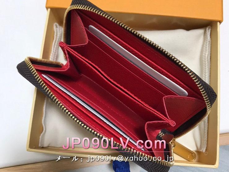 ルイヴィトン ダミエ・エベヌ 財布 スーパーコピー N60492 「LOUIS VUITTON」 21新作 ジッピー・コイン パース レディース ラウンドファスナー財布